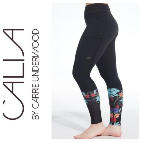 123370dc02b1c CALIA by Carrie Underwood Pants | Calia Sea Floral Leggings | Poshmark
